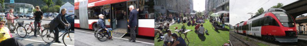 Vorrang für Lebensqualität Salzburger Vekehrsplattform